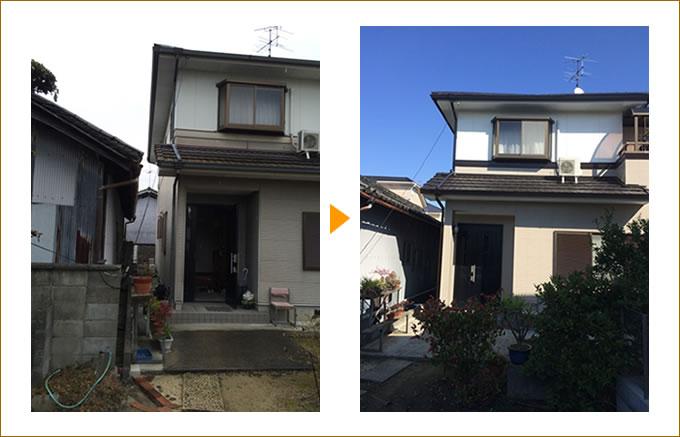 外壁塗装・屋根塗装の施工事例02