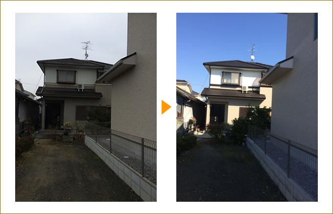 外壁塗装・屋根塗装の施工事例03