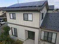 和泉市の太陽光発電工事例