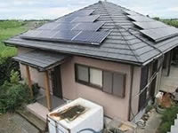 葛城市の太陽光発電工事例