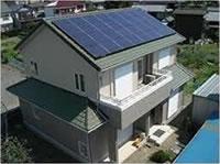岸和田市の太陽光発電工事例