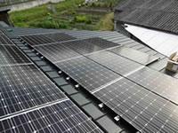 阪南市の太陽光発電工事例