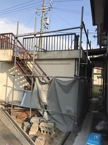 岸和田市O様邸外構工事