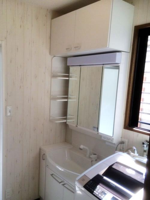 洗面室リフォ-ム