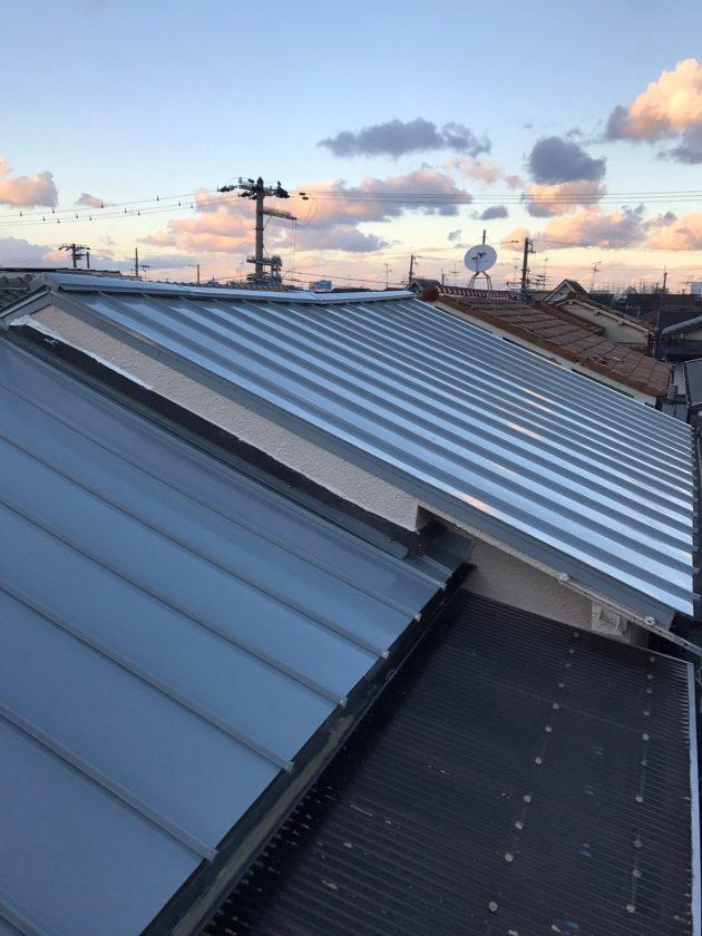 工事後 キレイになった屋根