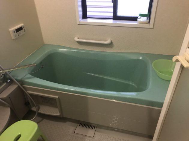 工事前 浴室