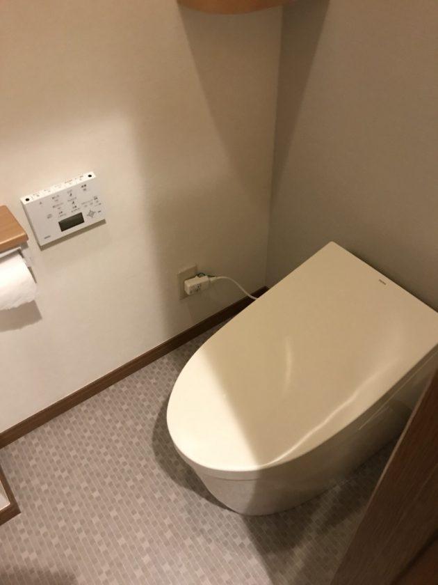 工事後 タンクレストイレ