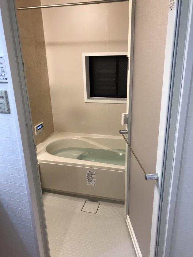 工事後 浴室